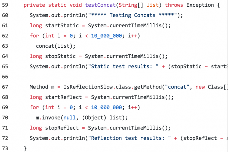 Java反射真的慢吗?