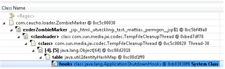 ClassLoaderLeak类加载泄露-找到不需要的引用