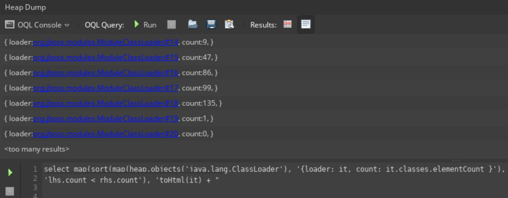 java元空间metaspace内存溢出排查方法总结