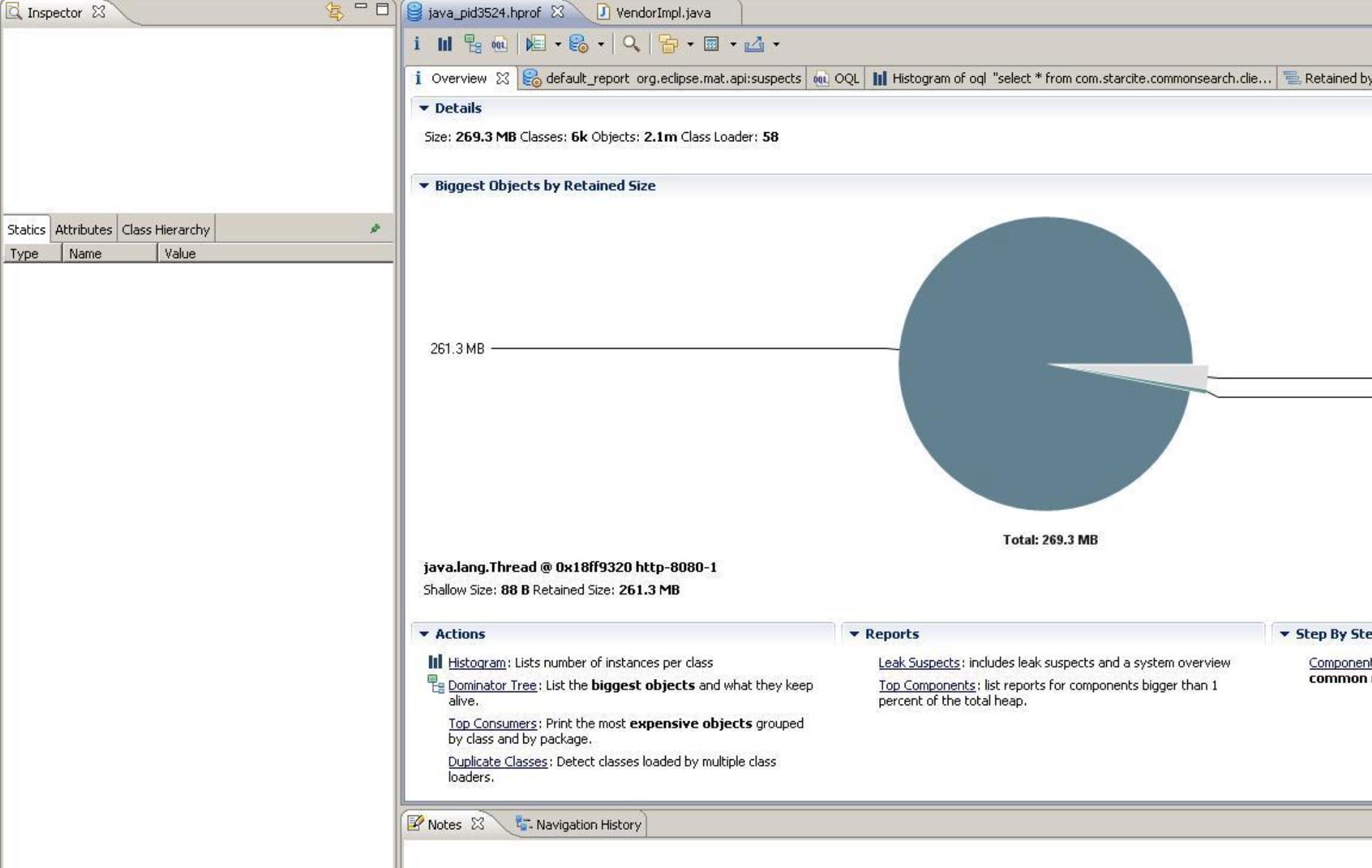 如何使用Eclipse内存分析器分析内存泄漏
