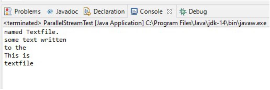 Java并行流Parallel Streams介绍
