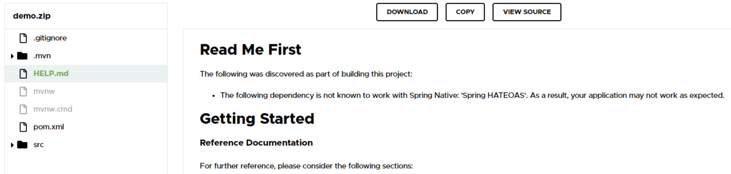 使用Spring Native将SpringBoot程序转换为GraalVM